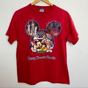 Vintage Disney World Magic Florida Mickey 90s Tee